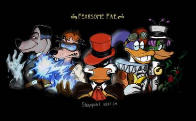 Fearsome Five in steampunk