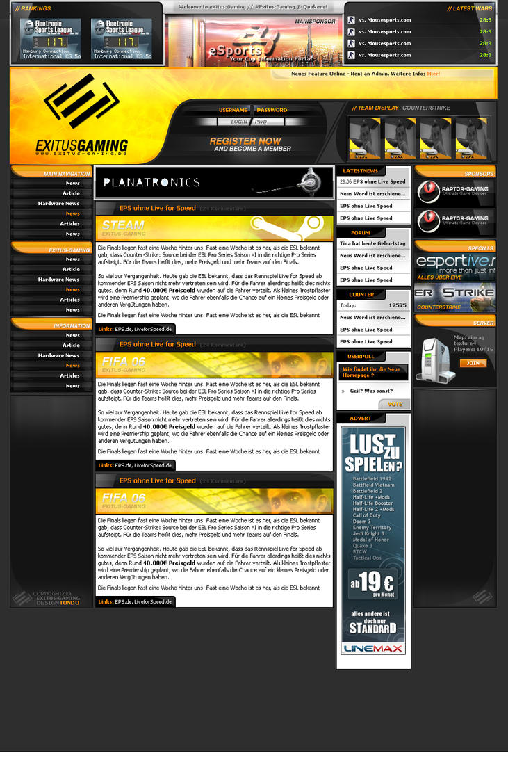 EXITUS GAMING by tondowebmedia