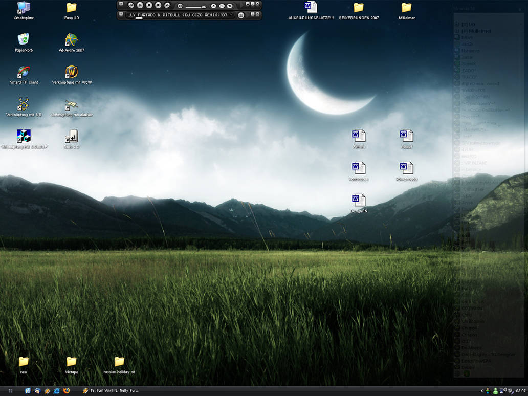 My little Desktop :D
