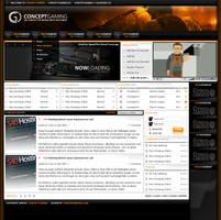 Concept Gaming by tondowebmedia
