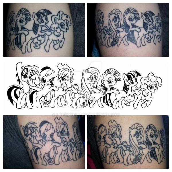my little pony tattoo design by lkburke29 on deviantart. Black Bedroom Furniture Sets. Home Design Ideas
