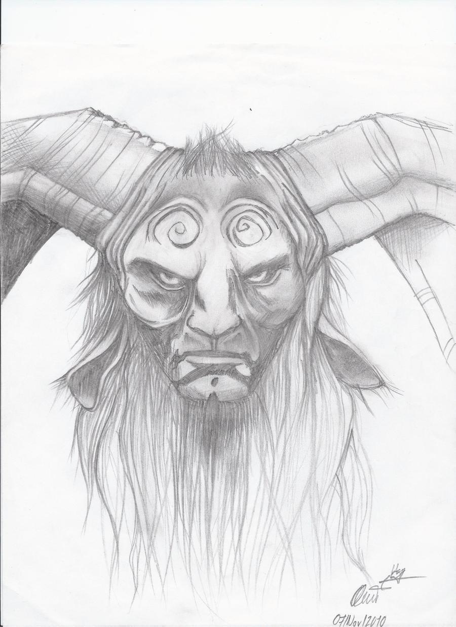 Pan's Labyrinth Faun ... by SatanicSpirit on deviantART