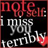 Note to Self by PunkyEmoFreak