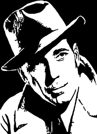 Humphrey Bogart by DowrickDesign