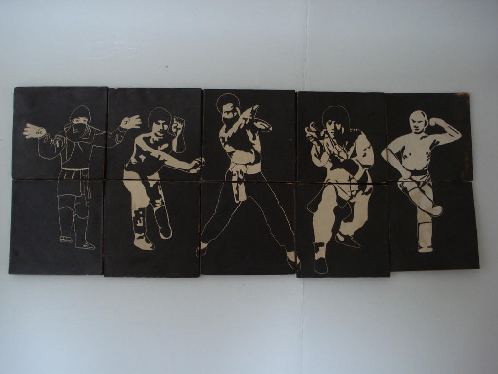 Kung Fu Tiles by DowrickDesign
