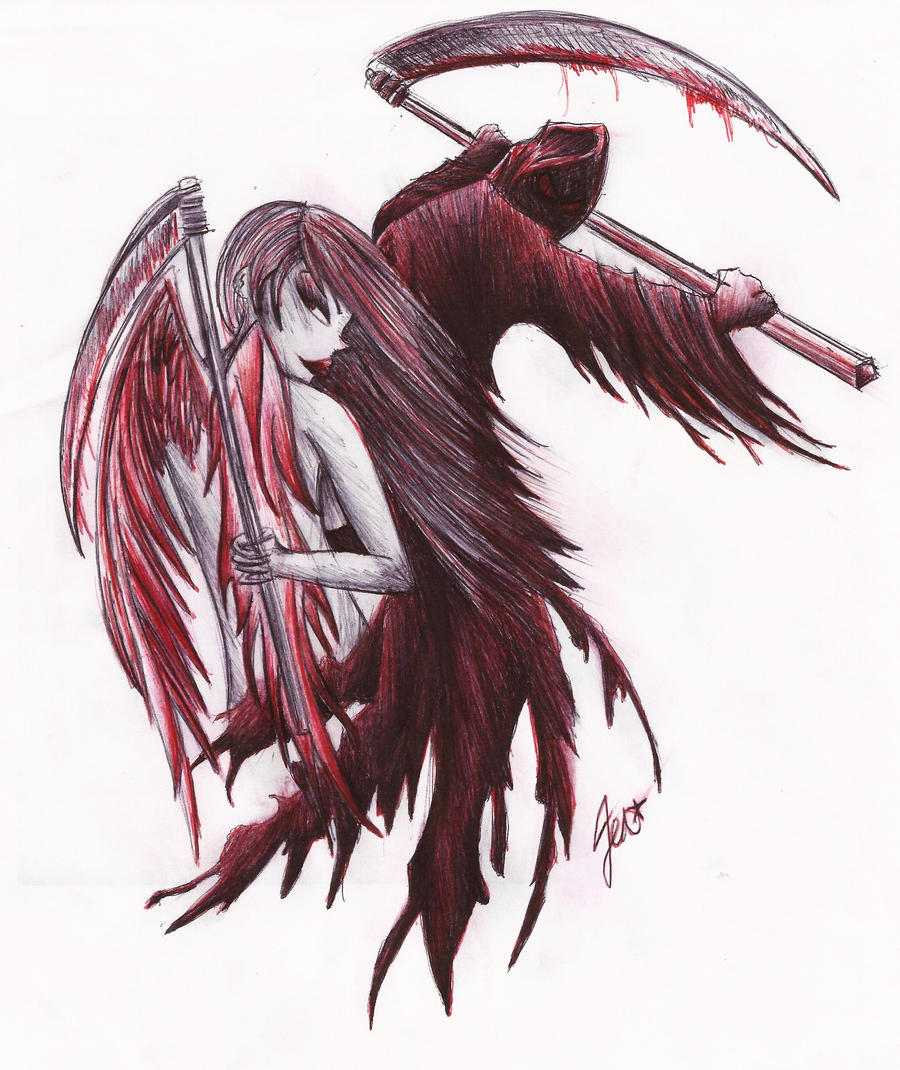 angel reaper bodom tattoo by aerocrue13 on DeviantArt