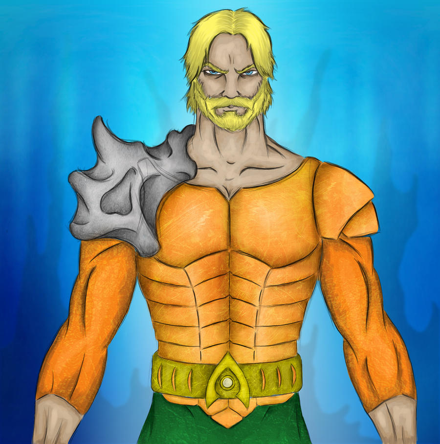 Aquaman by blacksmith7