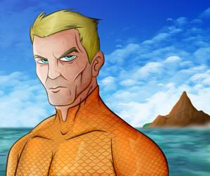 A for Aquaman by blacksmith7