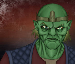 Goblin Lord by blacksmith7