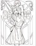 Alice In Wonderland Art Nouveau
