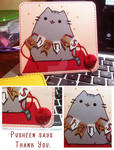 Pusheen Says Thank You