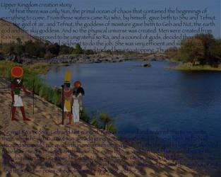 Creation Myth: Ancient Egypt by Kat11