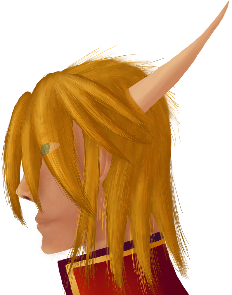 Merric (Semireal Head Portrait, Color) by ShadowKyogre