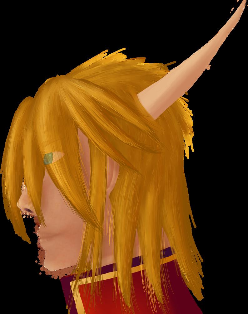 Merric (Semireal Head Portrait, Color)