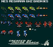 GHZ Badniks in Mega Man? by MotorRoach