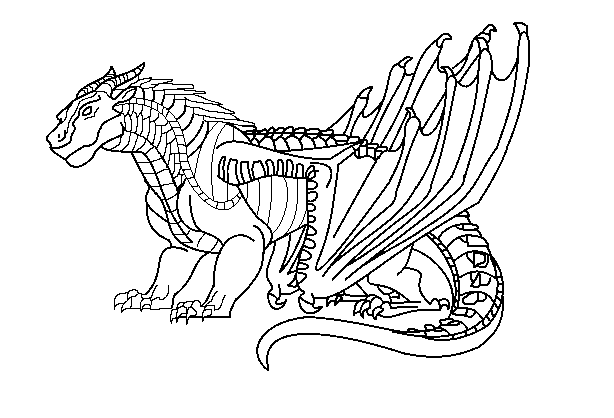 Wings of fire dragon coloring pages ~ In the Frozen North: WoF RP | Roleplay | Flight Rising
