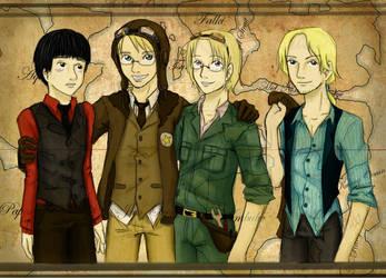 APH - America's Crew by Brainiac6Techgirl
