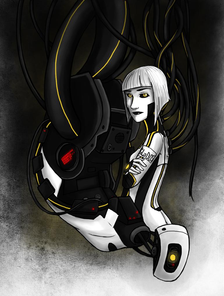 Portal 2 - GLaDOS by Brainiac6Techgirl