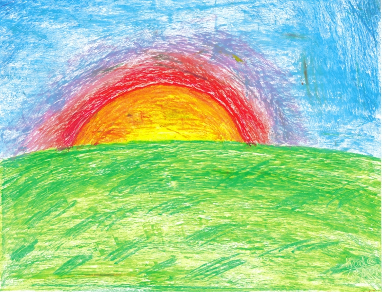 FREE 9+ Sunset Drawings in AI |Pastel Drawings Of Sunsets