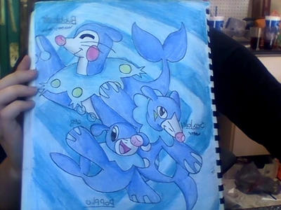 What I think will Happen to Popplio:) by Casey02kelly