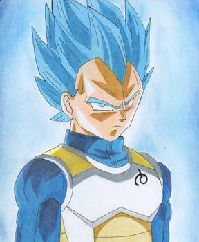Dragon ball Vegeta IVAN53