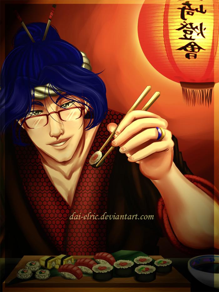 KOU: Quieres sushi? by Dai-QuARTu