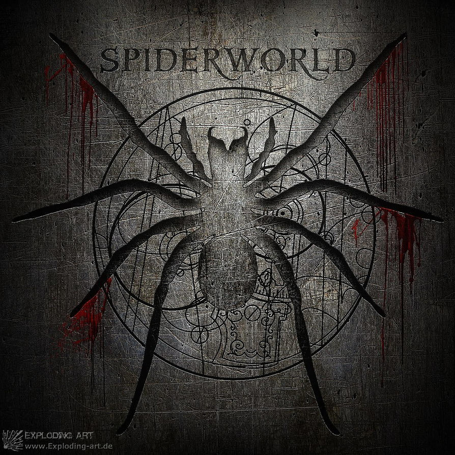 Spiderworld by MtPvonExplodingArt