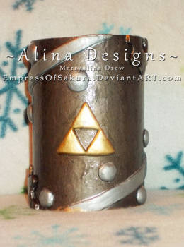 Steampunk Legend Of Zelda Pencil cup