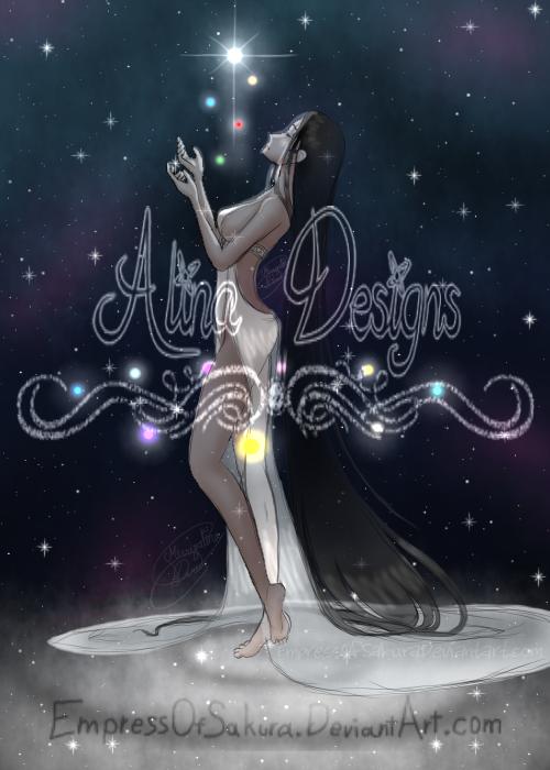 Go now children of the Universe-Yuri Snow Kaguya by EmpressOfSakura