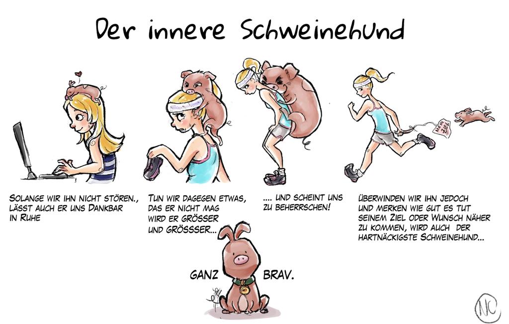 Der innere Schweinehund [GERMAN] by Nadily on DeviantArt