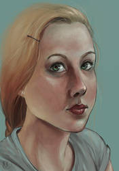 Self-portrait by Nadily
