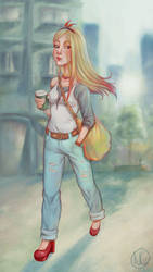 Coffee to go by Nadily
