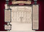 Kadetus Hostel website layout