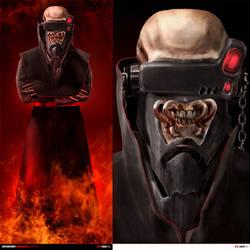 Vic - Megadeth concept v3 by xaay