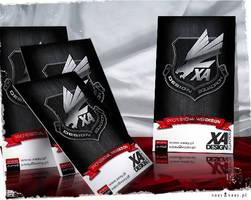 XA Design Squadron card by xaay