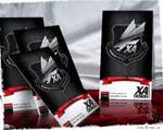 XA Design Squadron card