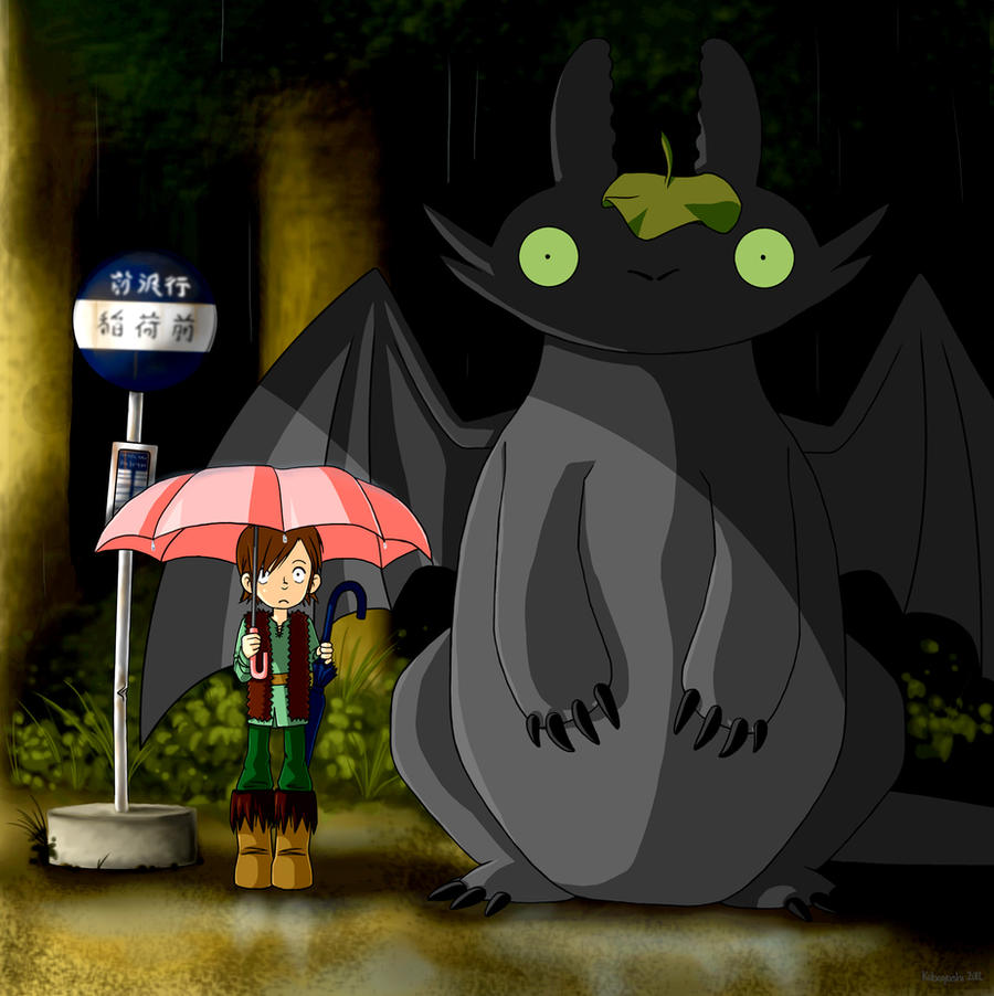 My Neighbor Toothless by kobayashi