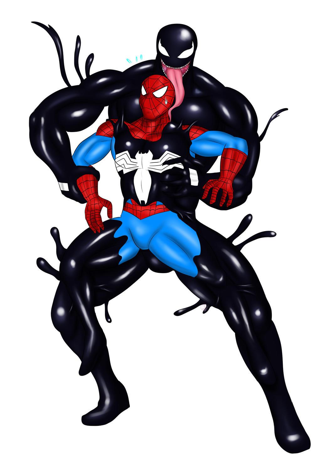 Spiderman VS Venom by St-Alpha on DeviantArt