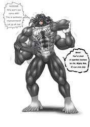 Monster Symbiote Suit : Mighty Web