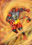 Eon (Incineroar Suit)