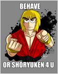 Ken is warning you