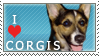 Corgi Stamp 2 by dappledoxie