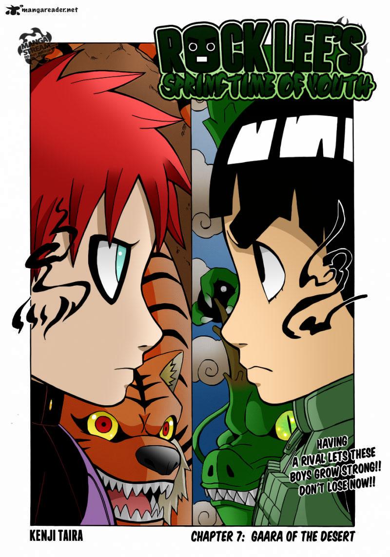 Springtime of youth : Rock Lee vs Gaara! by BlazeMizu on ... Gaara And Rock Lee Yaoi
