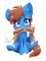 500 Watchers!! THANK YOU!! by BlazeMizu