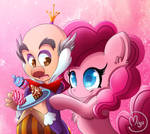 Candy and Pinkie