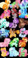 Adoptable random ponies (CLOSED)