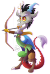 Discord archer by BlazeMizu