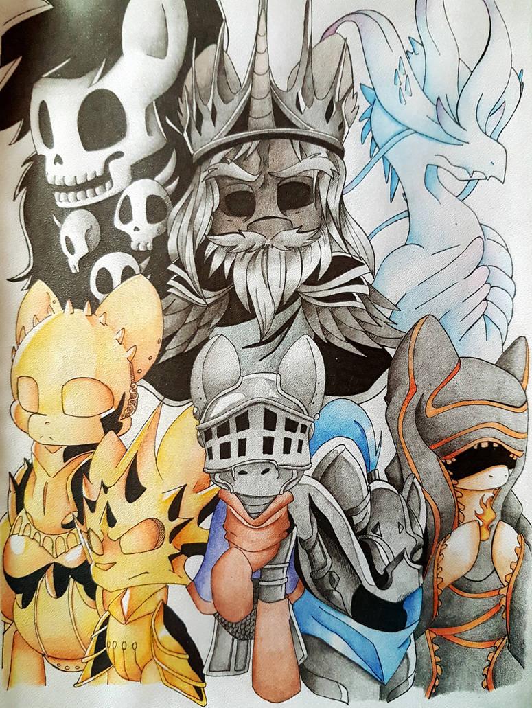 Dark Souls Pony by BlazeMizu