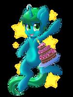 Commission: PonyComic Bday by BlazeMizu