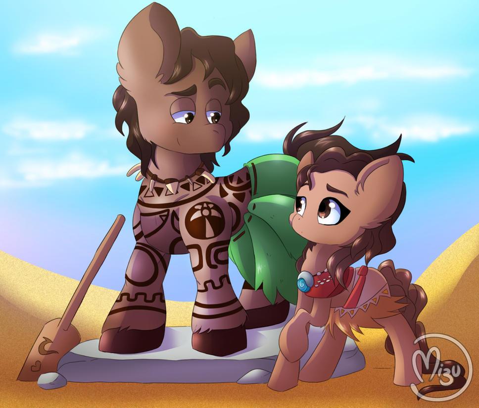 Moana pony: You're welcome by BlazeMizu
